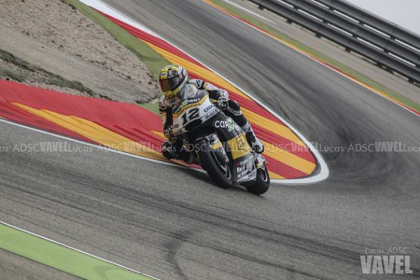 Thomas Luthi durante el Gran Premio de Aragón. | Foto: Lucas ADSC - VAVEL