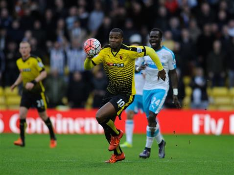 His only start for Watford came in January (Photo: Getty Images)