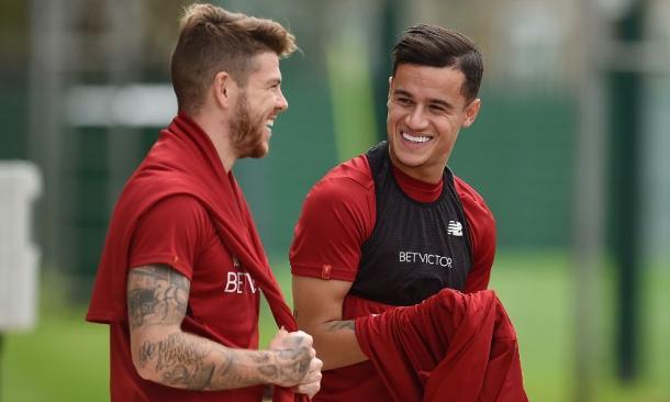 Coutinho já foi reintegrado aos Reds (Foto: Divulgação / Liverpool FC)