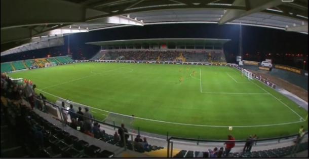 O Estádio da Mata Real vai encher esta noite | Foto; FCPF.pt