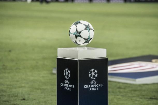 La pelota espera para dar su inicio en la Champions. Foto: Sitio oficial del AS Mónaco