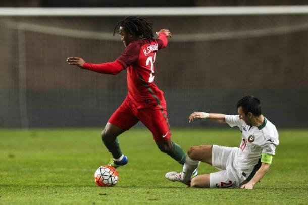 Renato jogou cerca de 60 minutos pela selecção das quinas // Foto: Lusa