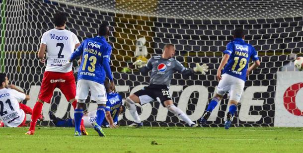 El gol en Bogotá que silenció a Millonarios y Tigre, a la final (Foto: Mundo D)