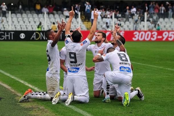 Se terminar o campeonato no G-4, o Santos terá o direito de participar da Copa Libertadores da América, que não disputa desde 2012, ano em que foi campeão (Foto: Ivan Storti/Santos FC)
