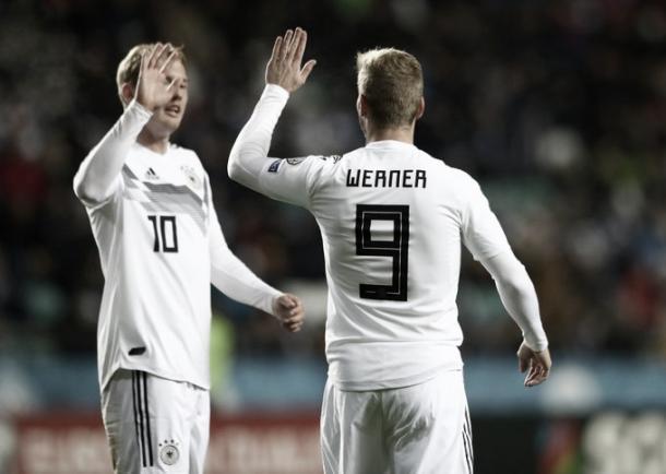 Foto: Reprodução / Seleção Alemã de Futebol