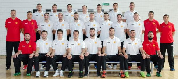 Selección montenegrina. Foto: EHF.