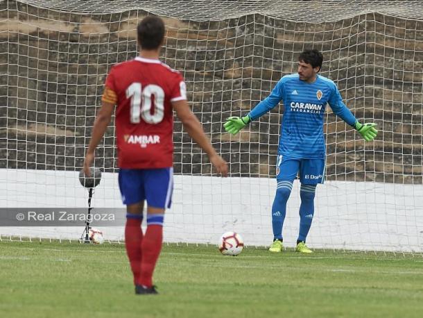 Equipación del portero. FOTO: Real Zaragoza