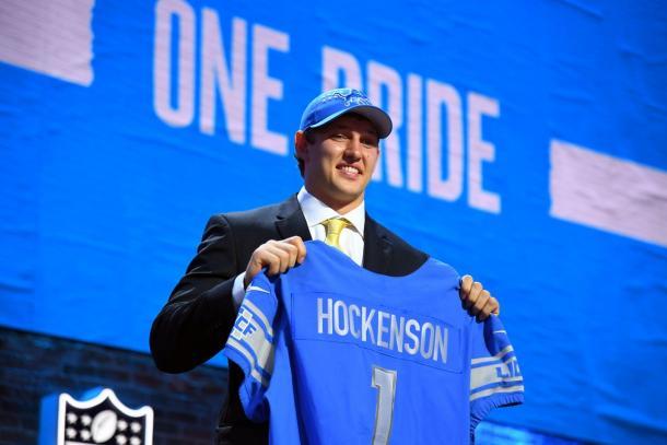T.J. Hockenson seleccionado en el puesto 8 global por los Lions (foto: www.detroitlions.com)