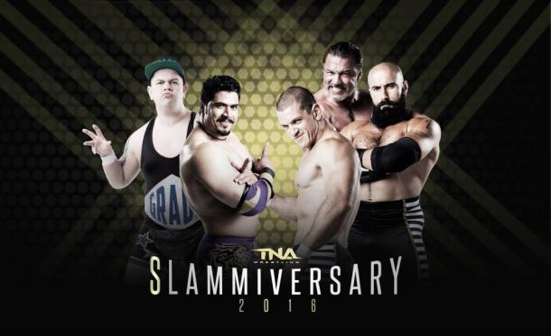 Could the funny be knocked out Grade and Shera by Al Snow and The Tribunal? (image: voicesofwrestling.com)