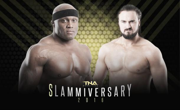 Can Galloway stop the force of Lashley? (image: voicesofwrestling.com)