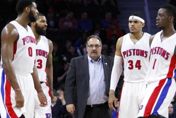 Gli ultimi Detroit Pistons. Fonte: Raj Mehta-USA TODAY Sports