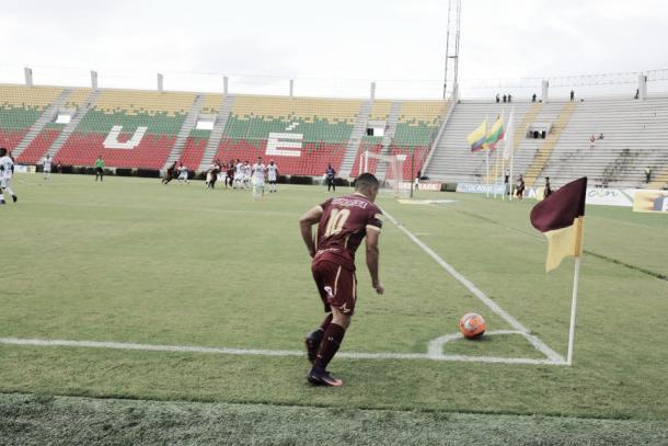 Tolima vs Huila. Copa Águilas | Foto: Club Deportes Tolima