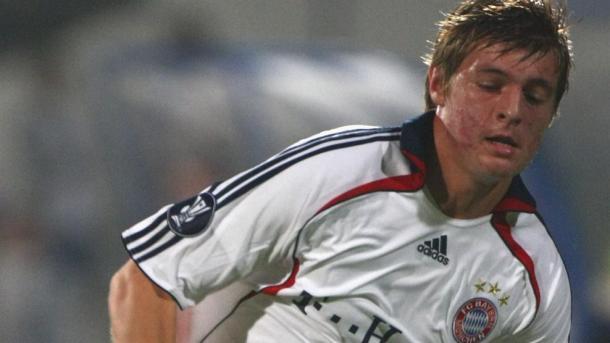 Un joven Toni Kroos defiende los colores del Bayern | Foto: UEFA