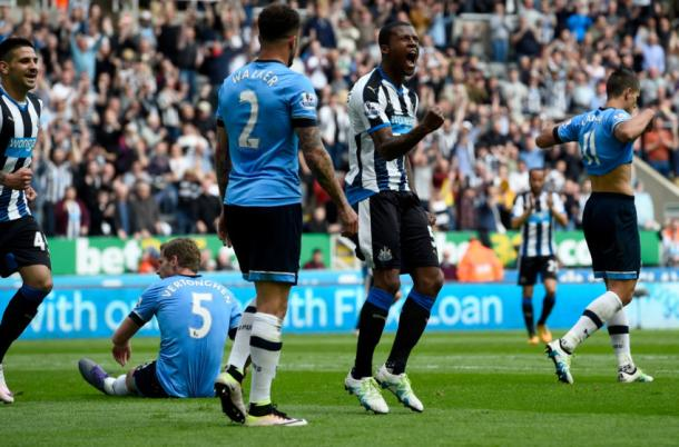 Spurs were beaten 5-1 by Newcastle on the final day of the season (photo; HotspurHQ)