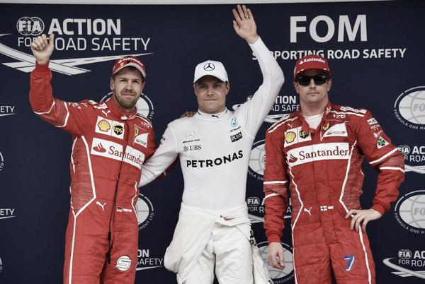 Los más rápidos del sábado en Brasil: 1º Bottas, 2º Vettel, 3º Räikkönen | Fuente: Getty Images / Mark Thompson