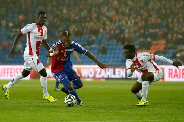 Dié in his first spell with Basel | Photo: Basler Zeitung