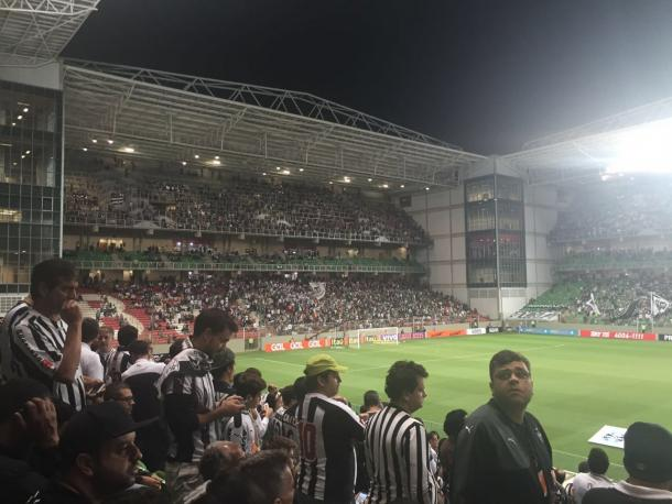Torcida do Galo apreensiva no Horto, o time perde por 0x2. (Foto: Editoria Mineira/Vavel)