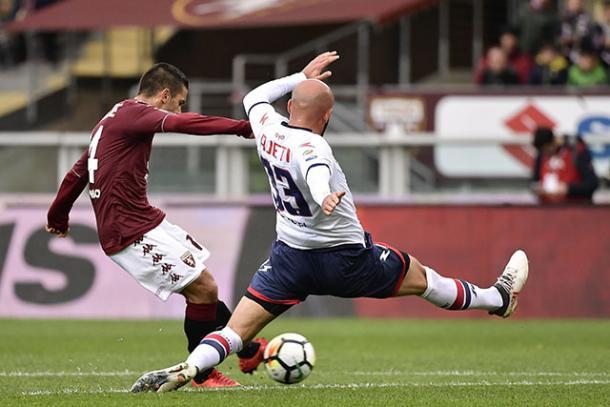 Il sinistro vincente di Iago Falque - Foto Torino FC