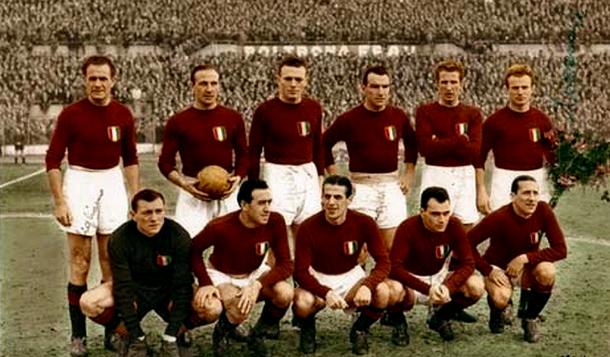 La Tragedia de Superga dejó muy mermada a la Azzurra  |  Fotografía: Torino FC