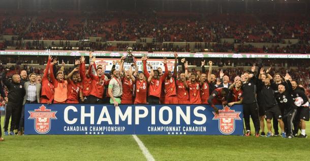 Toronto FC, actual campeón. Fuente: Toronto FC