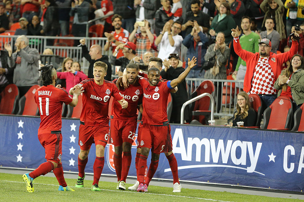 Toronto will look to carry momentum from the Canadian Championship into league form on Saturday night. | Photo: Steve Russell/Toronto Star via Getty Images