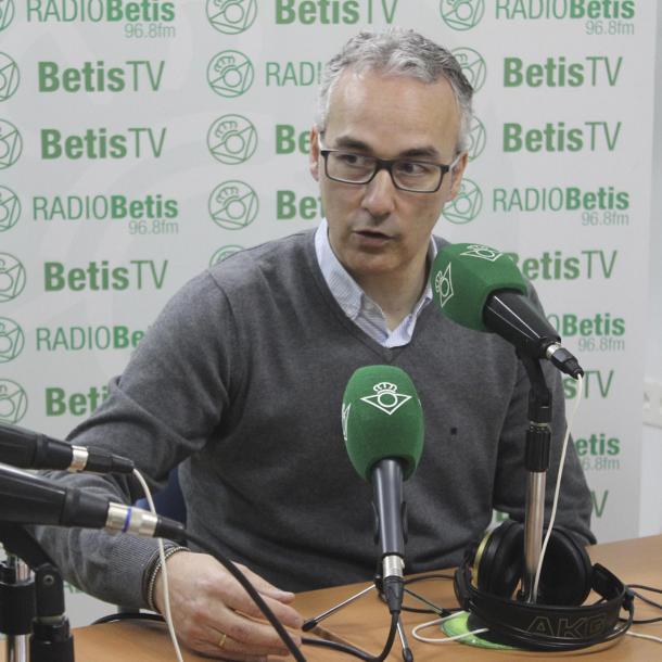 Miguel Torrecilla es el nuevo director deportivo del Sporting // Imagen: Real Betis