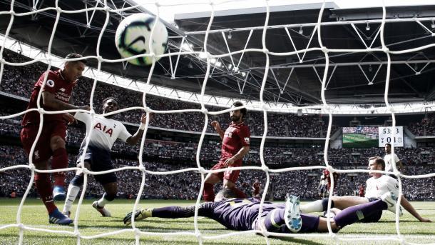 Tottenham y Liverpool en Wembley. FOTO: premierleague.com