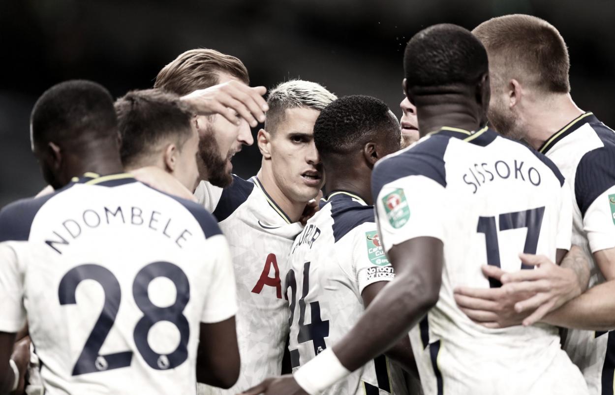 Tottenham./ Foto: Carabao Cup