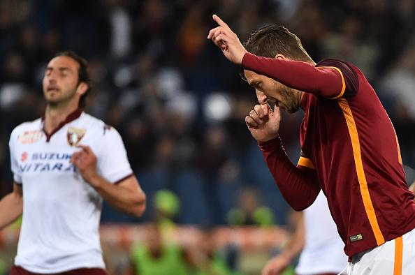 L'esultanza di Francesco Totti | Foto: calcioblog.it