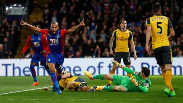 40 presenze, con 3 goal e 7 assist in tutta la stagione per Andros Townsend | www.premierleague.com