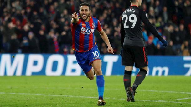 Townsend anotó uno de los goles ante el Arsenal | FOTO: Crystal Palace