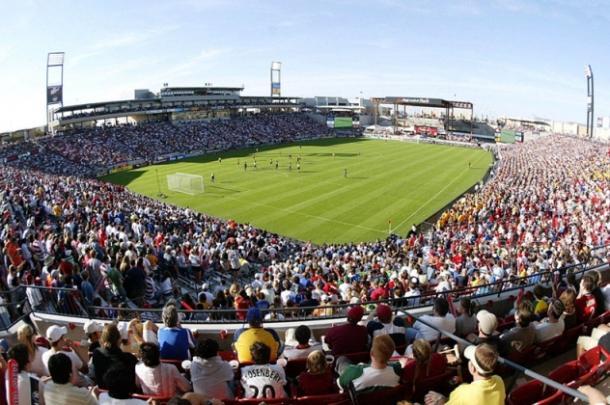 Toyota Stadium durante un partido de los 'Hoops' (marcadegol.com)