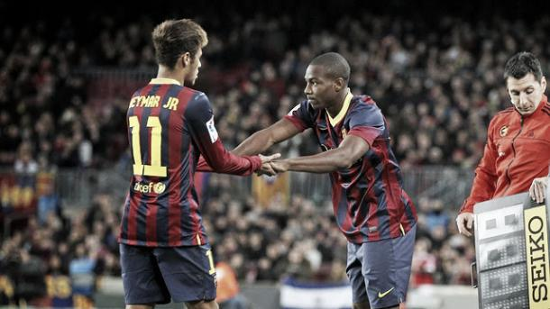 Adama Traoré replaces Neymar to make his senior Barcelona debut at 17 | Photo: yosisedefutbol.com