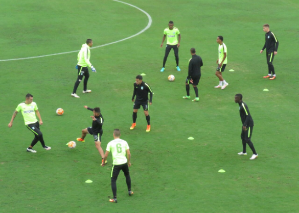Atlético Nacional es un candidato serio para llevarse la Copa Sudamericana. | Foto: Atlético Nacional
