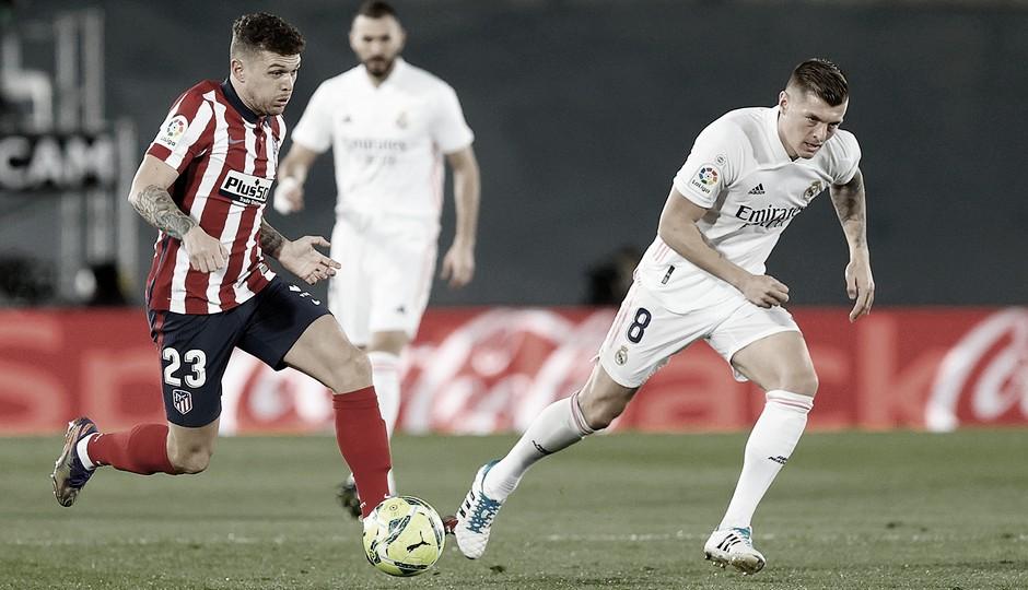 Trippier vuelve a jugar tras cumplir su sanción. / Fuente: Atlético de Madrid