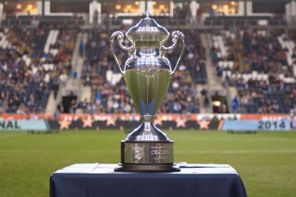 Trofeo U.S. Open Cup. Fuente: US Soccer