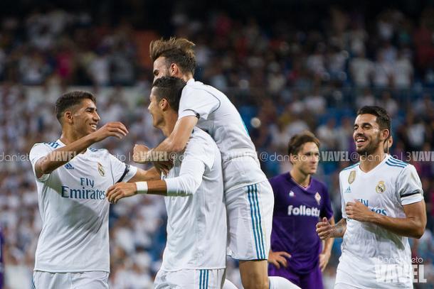 Cristiano Ronaldo marcó un golazo en el Trofeo Bernabéu   Foto: Dani Nieto (VAVEL).