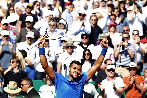 Tsonga celebrating after defeating Federer (Photo: Getty Images/Jean Christophe Magnenet)