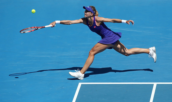 Tsurenko retired in Hobart with an illness (Photo by Mark Metcalfe / Getty Images)
