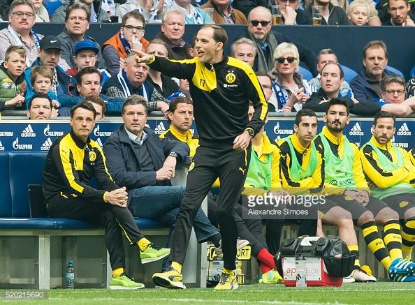 Tuchel has had to deal with losing key players such as Mats Hummels, Henrikh Mkhitaryan and Ilkay Gundogan this season. (Photo: Getty Images)