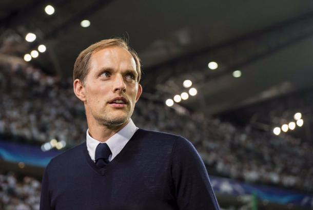 The match was Thomas Tuchel's first game as a Champions Leauge manager. | Photo: Borussia Dortmund