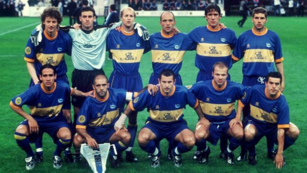 Plantilla del Deportivo Alavés en 2001. Fuente: Alavés
