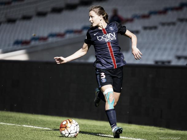 Boulleau in action for PSG. (Photo: Facebook -Nelson Fatagraf)