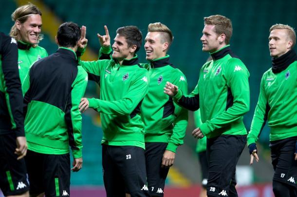 Il Borussia scherza. Fonte foto: it.uefa.com