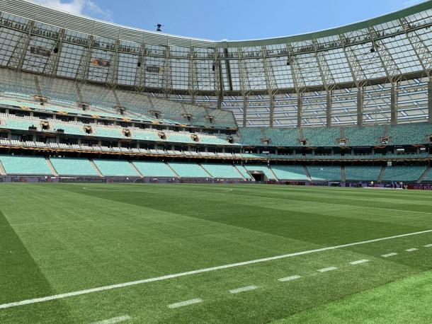 Estadio Olímpico de Bakú. FOTO: UEFA.com