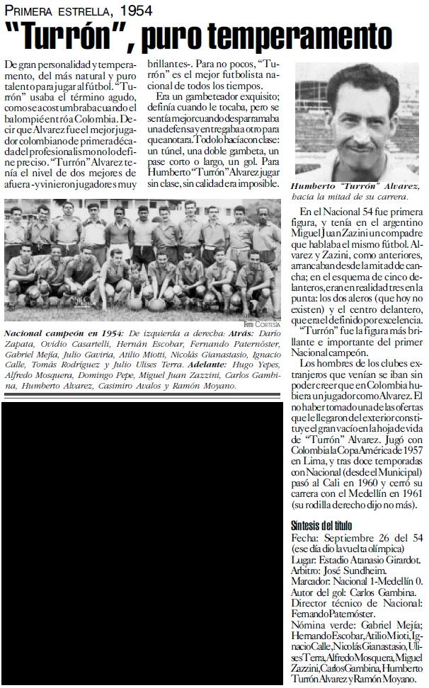 Artículo publicado en El Colombiano 19 de diciembre, 1999.   Fuente: Archivo CIP El Colombiano