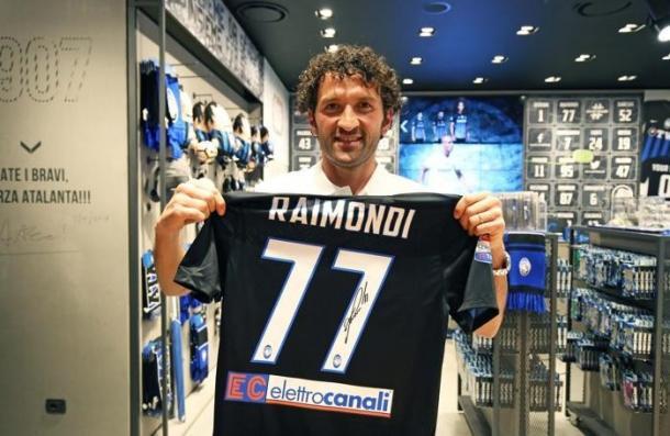 A camisa 77 foi eternizada na Atalanta por Raimondi | Foto: Divulgação Atalanta