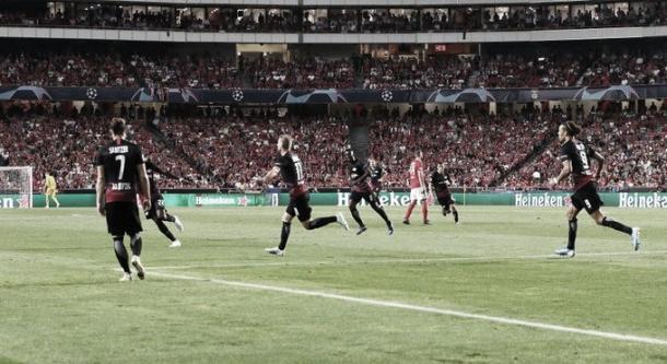Celebração de Timo Werner após seu gol / RB Leipzig