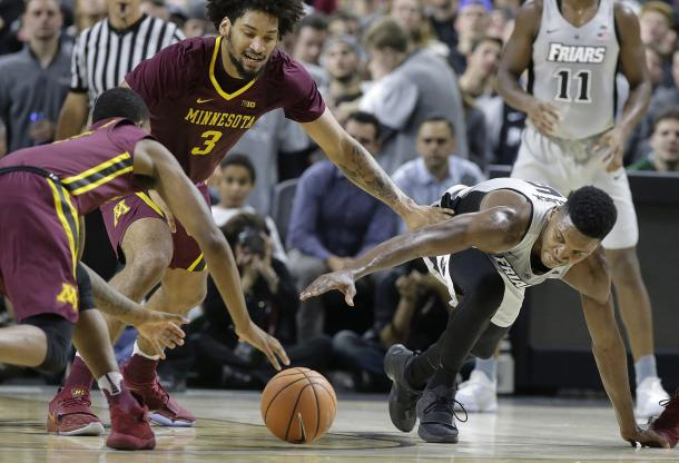 Providence was sloppy with the ball on the night and it cost them/Photo: Steven Senne/Associated Press