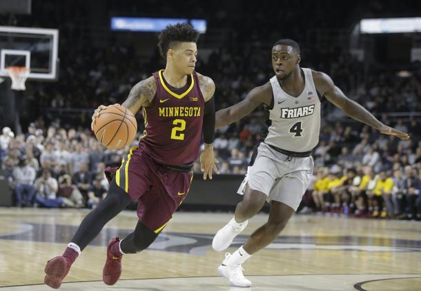Mason was one of three Minnesota players in double figures/Photo: Steven Senne/Associated Press